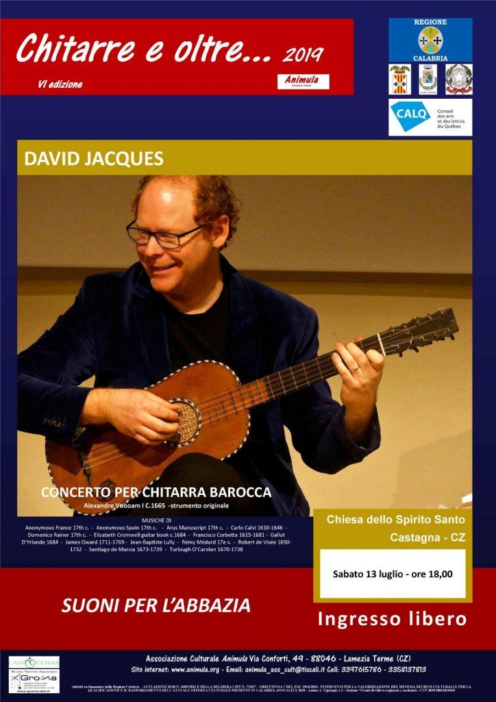 Concerto chitarra barocca