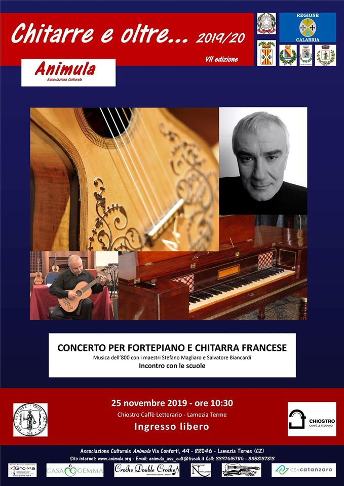 Concerto per Fortepiano E Chitarra Francese