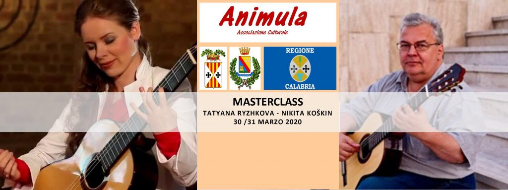 Masterclass TATYANA RYZHKOVA, NIKITA KOŠKIN